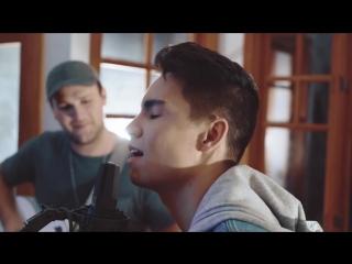 Шикарный акустический кавер песни Kelly Clarkson - Medicine - Sam Tsui Cover ft. Jason Pitts