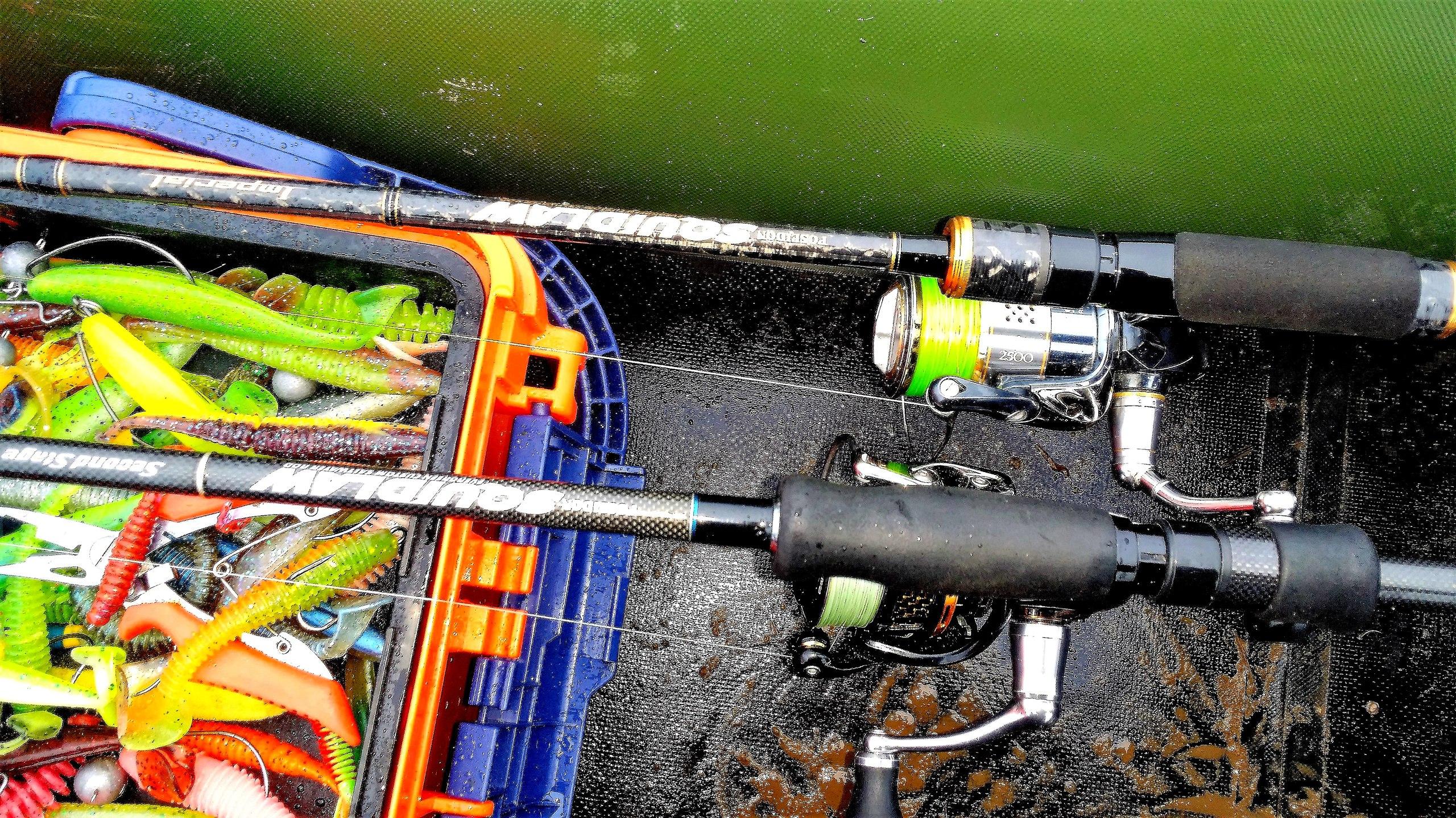 Отчеты с водоемов: Имперские замашки EVERGREEN Squidlaw Imperial NIMS-80ULST
