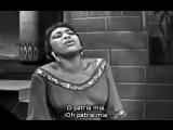 Leontyne Price - O patria mia de Aida de Verdii (subt