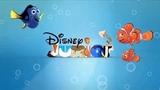 1273-Disney Junior With Finding Nemo Spoof Pixar Lamps Luxo Jr Logo
