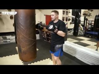 Две важные комбинации боксера с ударом по корпусу