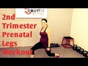 2nd Trimester Legs and Butt Prenatal WorkoutBut Good For All Trimesters!