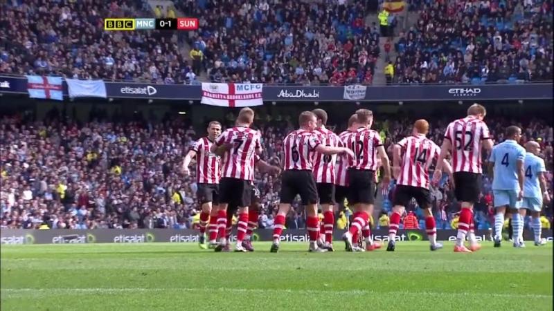 Manchester City vs Sunderland - 3:3 31-03-2012