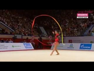 Salome Pazhava Ribbon EF - GP Moscow 2018