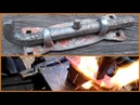 How to Forge a Sliding Bolt Adjustable Rivet less Tong Update