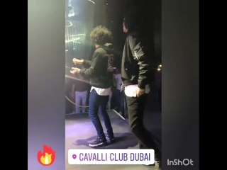 So Lit! 🔥Via @officiallestwins, Eleni's and @cavalliclubdxb's IGSs 👻