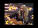 Taylor Swift - Our Song (Live acoustic at Z100 Studio, New York 2009)