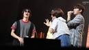 [15.07.18] Первый сольный фанмитинг Мёнсу в Сеуле, день 2, второй фанмитинг | Выход Дону и Ухёна