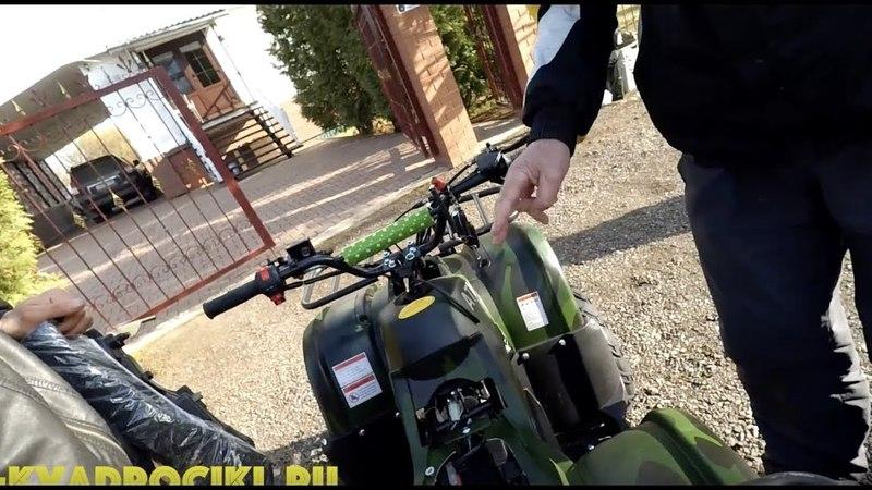 Квадроцикл ATV E54-G7 бензиновый в стиле гризли