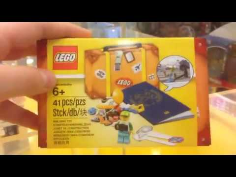 Влог из Мира Кубиков с Benny Bricks и Lego Life НОВЫЙ НАБОР ЛЕГО 5004932 TRAVEL BUILDING SUITCASE