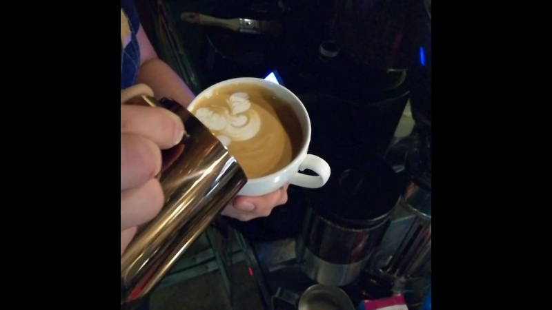 After freepure by @one_hand_barista