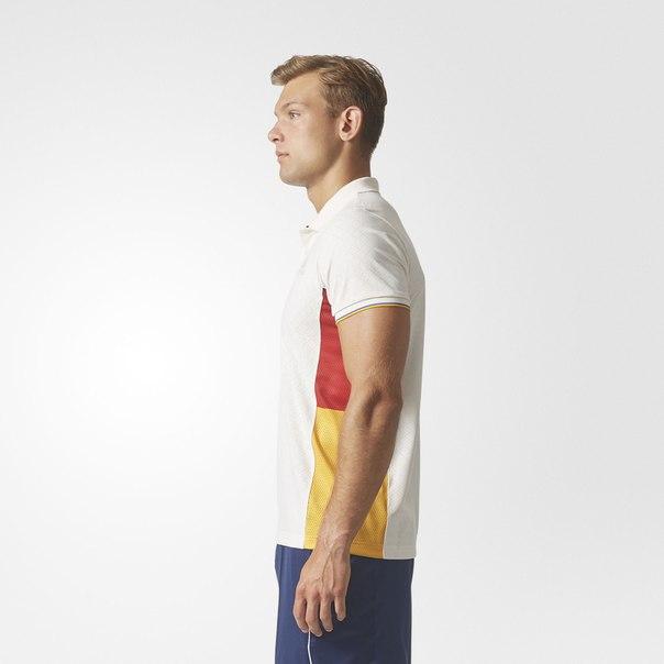 Футболка-поло для тенниса New York Colorblock