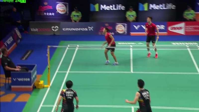 Danisa Denmark Open 2017 - Final XD - Zheng-Chen vs Tang-Tse