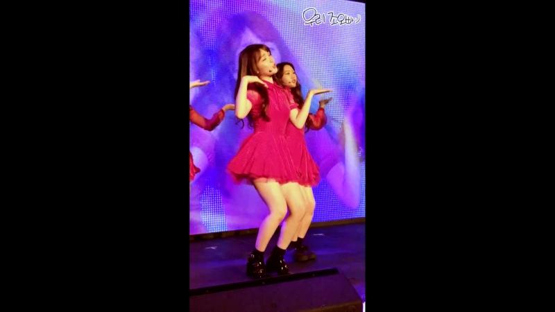 · Fancam · 180526 · OH MY GIRL Cupid Seunghee focus · 1st Fan Concert In Hong Kong ·
