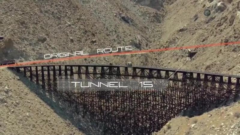 Забытая инженерия (Эстакада козлиного каньона)