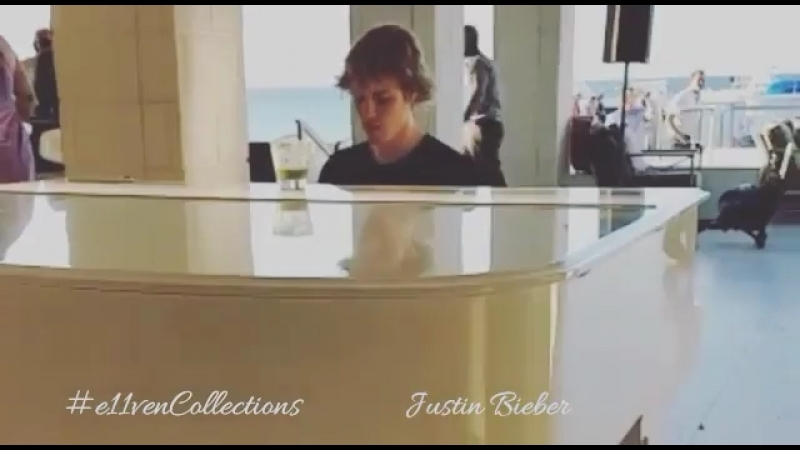 E11vencollections When @justinbieber plays for e11venCollections in Jamaica 🇯🇲
