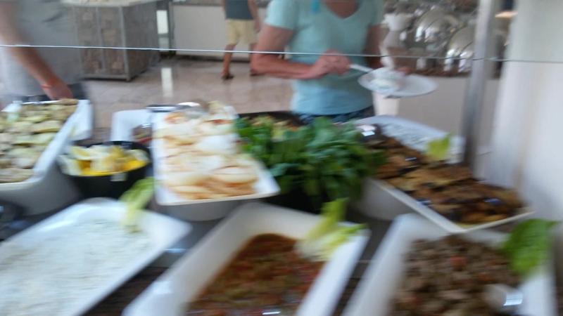 обед в отеле Incekum Su