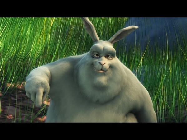 Большой кролик Бак - Мультфильм для детей - 4К