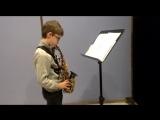 Урок саксофона - Апананский Элиас