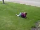 Мистика видео Призрак который случайно забрёл в кадр