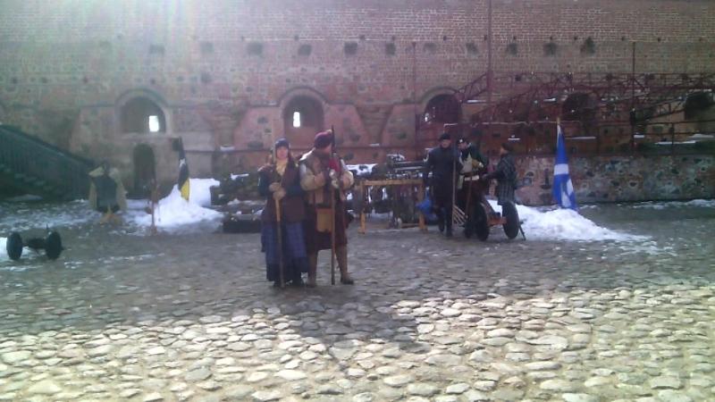 Мирский замок Беларуссия - VID_20180310_133434