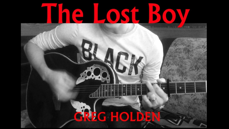 Greg Holden - The lost boy (cover Nazir Sharipov)