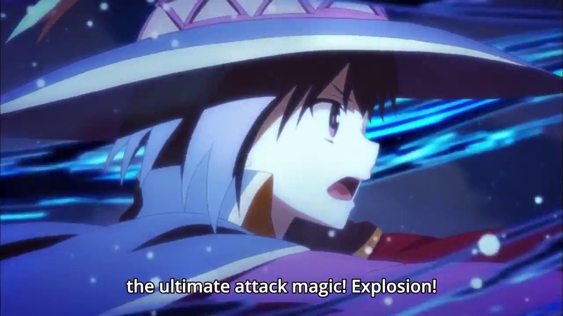 「AMV」 EXPLOSION - No Glory [All Megumin Explosions]