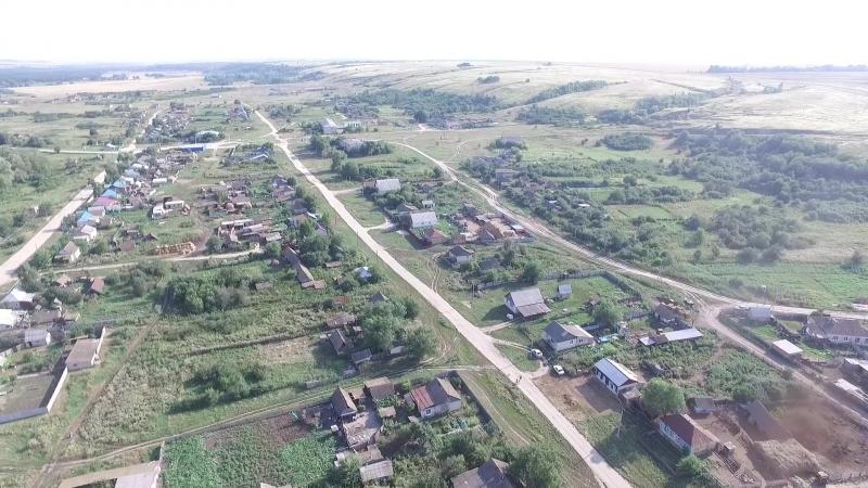 Село Невежкино с высоты птичьего полета 2017