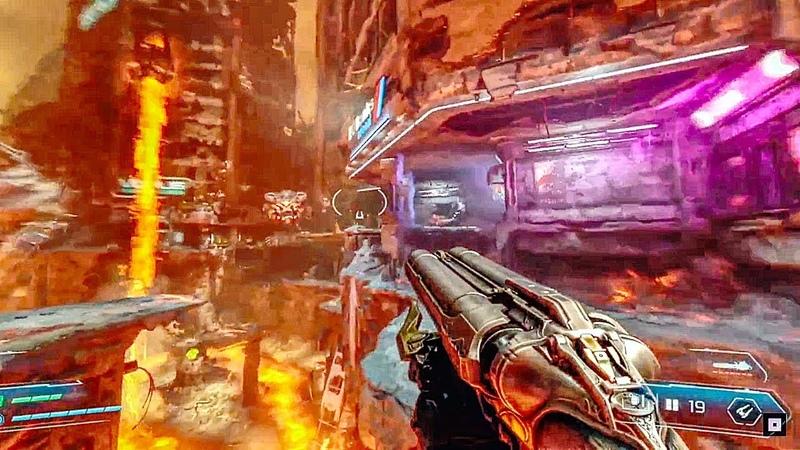 DOOM ETERNAL Gameplay Demo (2018) PS4Xbox OnePC