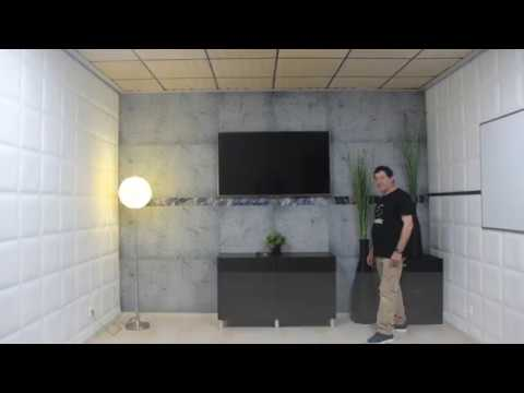 Flat Panel VMT and VicWallpaper office renovation