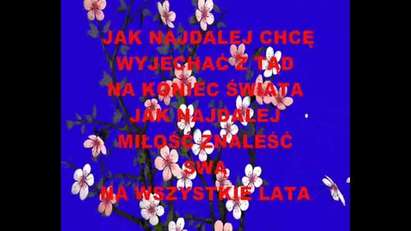 Jak najdalej Karaoke Alexmar Tekst Aleksandra Pławińska Stanisław Krenz Muzyka cover