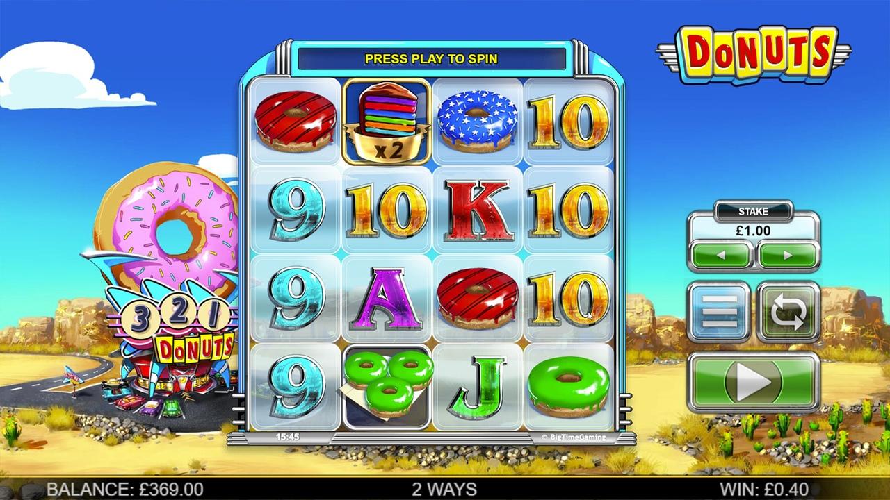 Обзор игрового автомата Donuts
