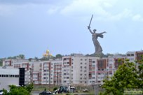 10 мая 2015 - Прогулка от Парка Гагарина до площади Возрождения в Волгограде