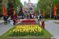 08 мая 2015 - Прогулка по проспекту Ленина в Волгограде