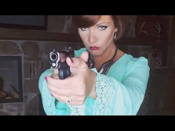 Dene Adams Holiday Dress Concealed Carry Thigh Holster