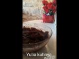 брауни с шоколадом и вишней и вишней