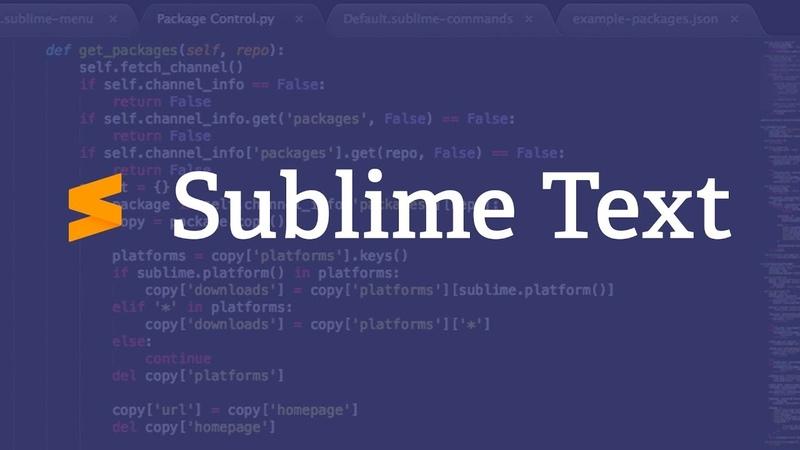 Новый Sublime Text 3 Лицензия (ключ)