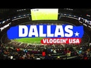FC BARCELONA MATCH AT AT&T STADIUM VLOG  | Vloggin' USA