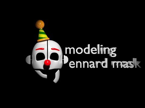 Modeling ennard mask