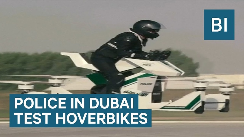 Police In Dubai Tested Hoverbikes That Go 20 Feet In The Air
