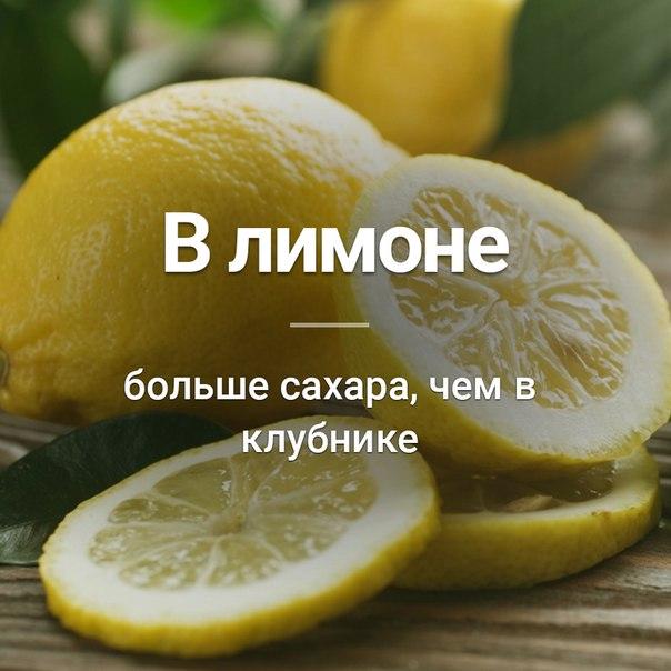 Много ли сахара в лимоне