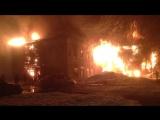 В Вологде из горящего дома спасли двух человек