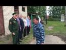 Открытие военно спортивных сборов для старшеклассников в Краснобаковском районе 2
