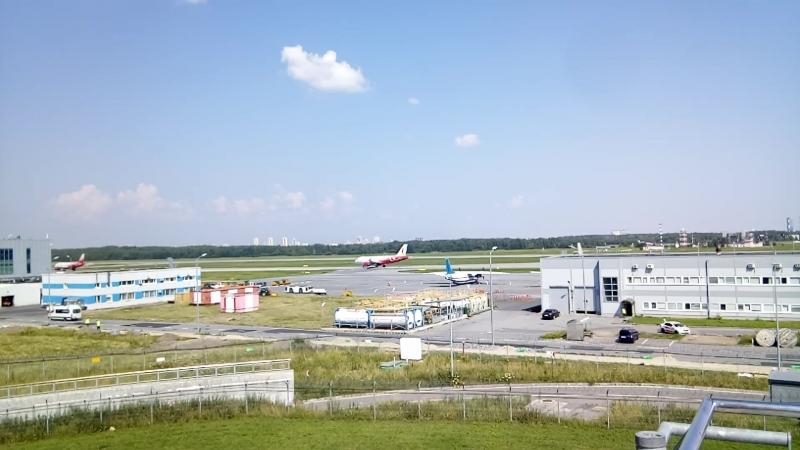 Аэропорт Жизнь кипит