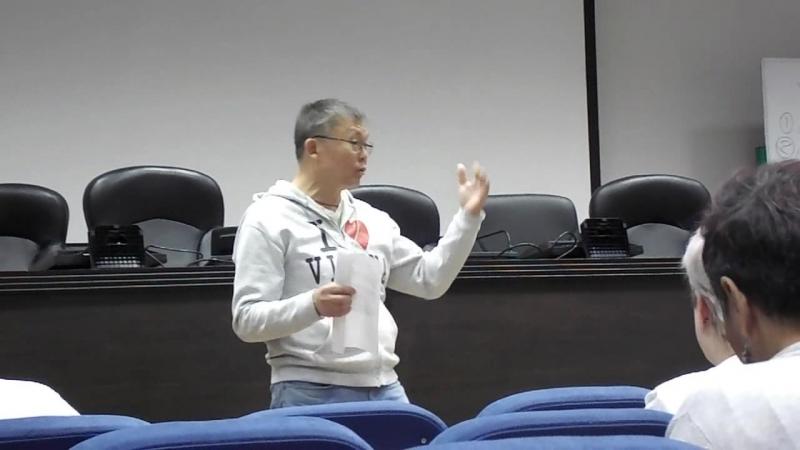 Выступление Баира Цыбикова
