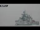 Российский фрегат «Адмирал Эссен» с ракетами «Калибр» вышел в морской поход
