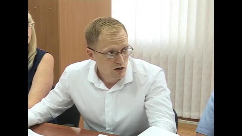 совещание в администрации по проекту Моногород