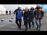 Путин проверил Крымский мост
