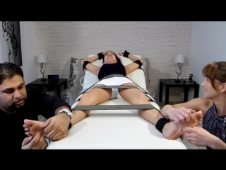 FrenchTickling - Thian Is Back For More Hysteria - Bare Feet Tickling