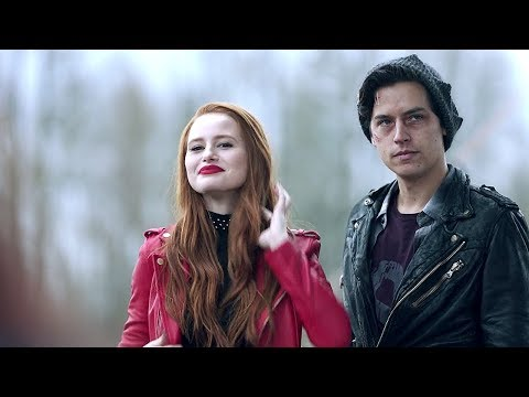 Riverdale 2x22 Jughead becomes Serpent King and gives Cheryl a Serpent Jacket (2018) HD